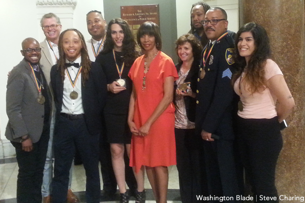 Baltimore Pride reception, gay news, Washington Blade